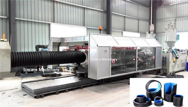 Quality Double Wall Corrugated Pipe Production Line for sale