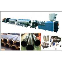 China Large diameter HDPE pipe production line wholesale