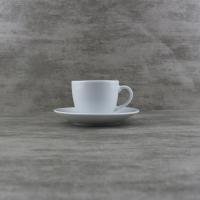 Buy cheap Porcelain Dinnerware 90cc Coupe Set of Espresso Cups from wholesalers