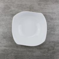Porcelain Dinnerware Curved 5.5 inch Chinese Ceramic Bowls