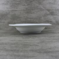 Buy cheap Porcelain Dinnerware 9 inch Curved Unique Soup Bowls from wholesalers