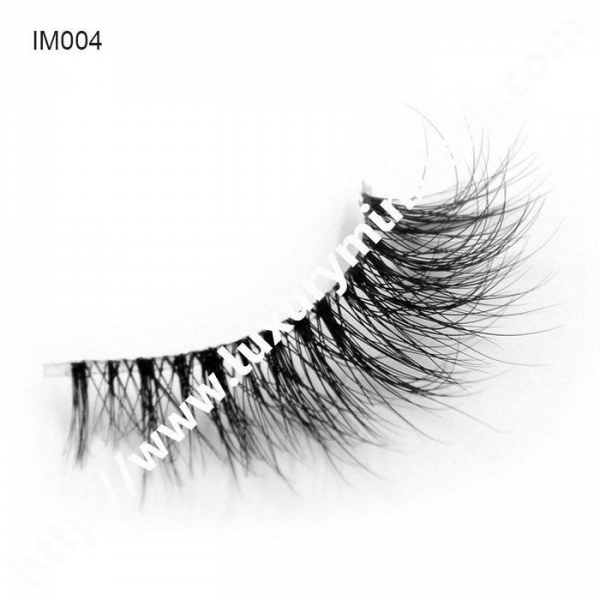 Quality Best Seller Invisible Band Mink Lashes for sale