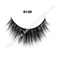 China 100 real mink lashes S129 wholesale