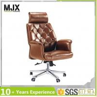 China Office Chair Brown Color Classic Big and Tall Boss Chair on sale