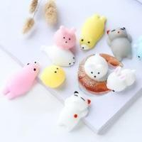 China Mochi animal squeeze toys Soft plastic rubber slow rising squishy wholesale