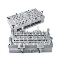 China 24 Cavities Valve Needle Hot Runner PET Bottle Preform Injection Mould wholesale