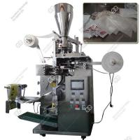 China Double Layer Tea Sachet Filling Packing Machine|Doubl Chamber Tea Bag Packaging Machine wholesale