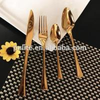 China Gold Plated Stainless Steel Cutlery Sets for Wholesale wholesale
