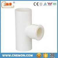 China UPVC water supply pipes&fittings UPVC Plumbing fittings reducing elbow wholesale