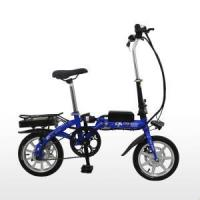 China 14 Inch Magnesium Integrated Wheel Small Folding Electric Bike wholesale