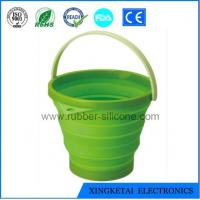 China Kitchen Essential Foldable Silicone Bucket wholesale
