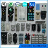 China Factory Customize Wholesale Waterproof Silicone Keypads Silicone Push Buttons wholesale