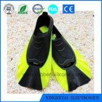 China Custom Silicone Swimming Fins Diving Shoes Comfortable Tail Swim Fins Rubber wholesale