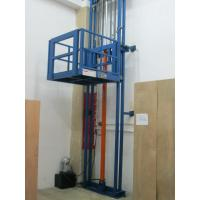 China Wall-mounted cllimbing guide-rail type cargo-lifts on sale