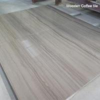 China Popular Wooden White Marble Tiles for Flooring and Wall   wooden grey marble white marble countertop on sale