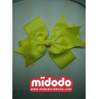 China Baby Grosgrain Bow Double Ribbon Hair Clip on sale