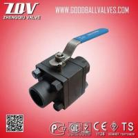 China 800LB-2500LB 3PC Forged Steel Ball Valve wholesale