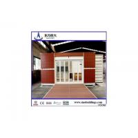 Buy cheap Economic pre container house for coffe house,office 20 ft,40 ft from wholesalers