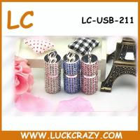 China 2015 Wholesale 1MB-64GB Real Capacity Bling Jewelry USB Drive on sale
