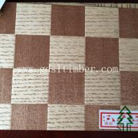 China Red oak and Sapele natural veneer knitting board ID:SL-KV-05 wholesale