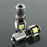 China BA9S Led Bulb , 5 Pieces SMD 5050 T10 W5W Led In Canbus Function ( Epistar Chip) on sale