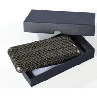 China 100%realcarbonfiber3fingercarbonfibercigarcase wholesale