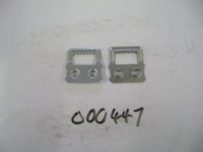 China Hardware 2 hole hangers silver for MF10 and MF20 x 6000