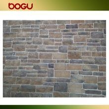 Quality Outdoor wall cladding stone veneer rustic tile design artificial stone China for sale