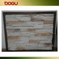 China External wall cladding stone tile, Chinese artificial design stone veneer wholesale