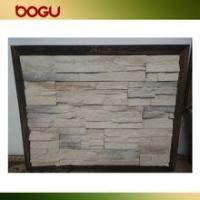 China White stone stacked artificial stone wall tile rustic panel wholesale