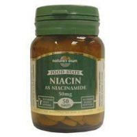 Buy cheap Nature's Own Niacin (Vit B3) 50mg 50 Tabs from wholesalers