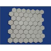 China Alumina Wear Resistant Hex Tile on sale