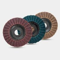 China Non-woven Flap Disc-rough100x16Code:PFD100NW wholesale