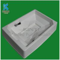 China Eco-friendly delicate wet pressed white pulp packaging boxes wholesale