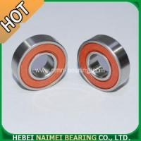 China 6001 2RS Bearings Red rubber sealed on sale