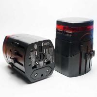 China SWA4U World Wide Travel Adapter with Dual-USB Charger on sale
