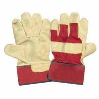China Hand Protection Cow Grain Leather Gloves wholesale