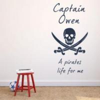 Buy cheap Personalised Pirates Life for Me ~ Wall sticker / decals from wholesalers