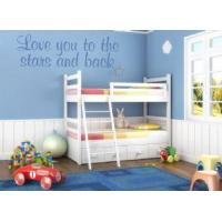 Buy cheap Love You to the Stars & Back (Child's) ~ Wall sticker / decals from wholesalers