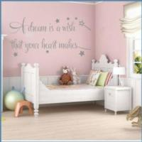 Buy cheap A Dream is a Wish that your Heart Makes Version 2 ~ Wall sticker / decals from wholesalers