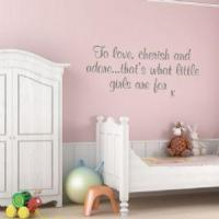 Buy cheap To Love Cherish and Adore ~ Wall sticker / decals from wholesalers