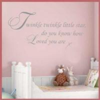 Buy cheap Twinkle Twinkle Little Star ~ Wall sticker / decals from wholesalers