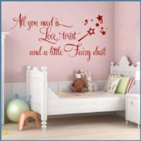 Buy cheap All You Need is Love, Trust & Fairy Dust ~ Wall sticker / decals from wholesalers