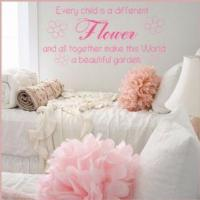 Buy cheap Every Child is a Flower ~ Wall sticker / decals from wholesalers