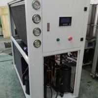 China 10Ton air to water circulation chiller for Coating compound machine wholesale