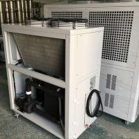 China 10HP air cooled glycol low temperature chiller(-8C) for ethyl alcohol cooling industry wholesale