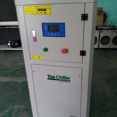 Quality 240000Btu/H Copeland compressor packaged air cooled chiller for chocolate ball mill machine for sale