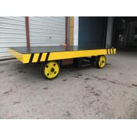 China Contact Now Battery Powered Railway Electric Material Transfer Cart wholesale