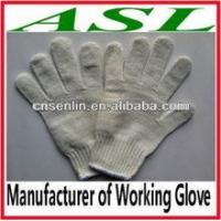 China working shoes Nature White Cotton Working Glove wholesale