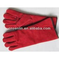China working shoes Cow Split Leather Welding Glove wholesale